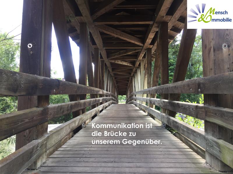 Erfolgreiche Auftragsakquise durch verbindende Kommunikation als Brücke, Maklercoaching, Mensch & Immobilie, Maria Liebig