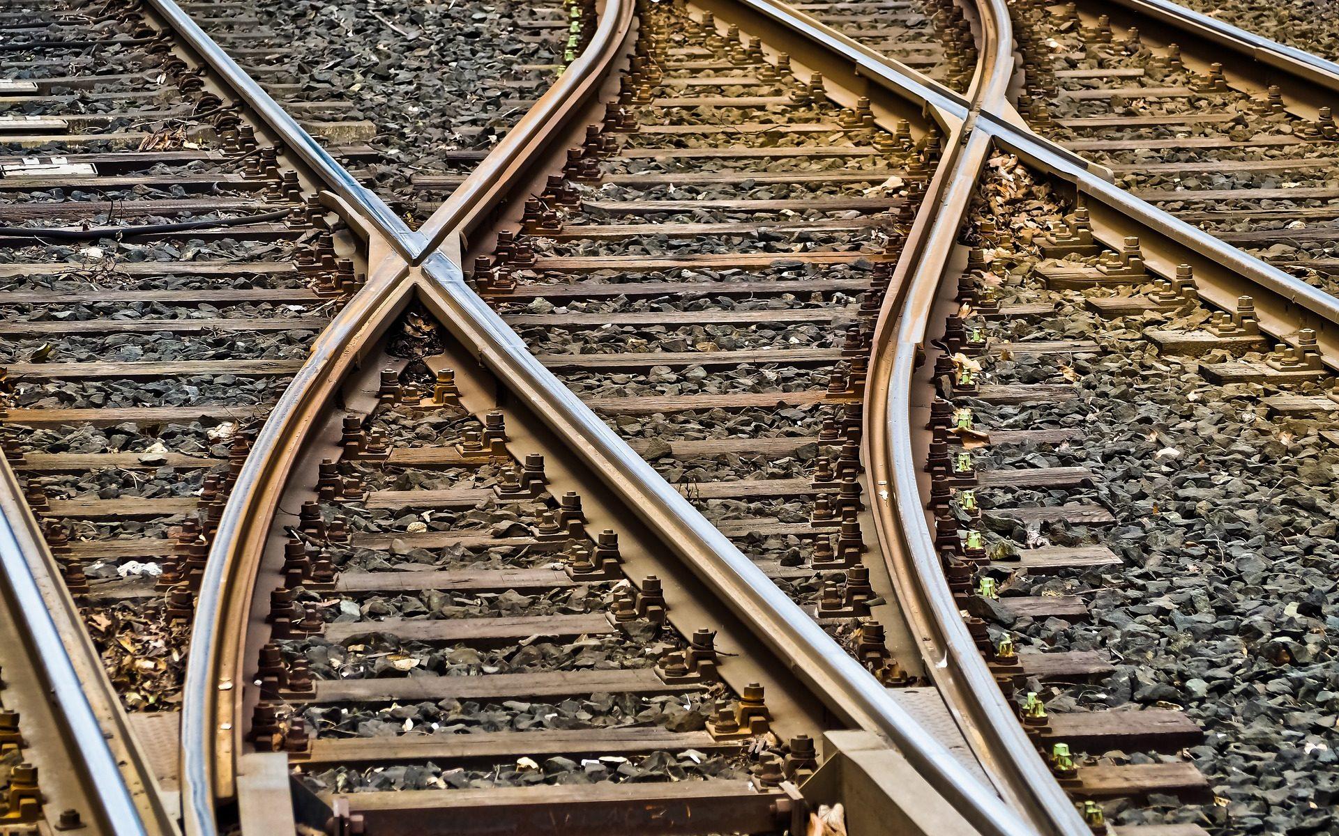 Weichen stellen am Bahnhof-Lebensraumaufstellung-Lebensraumgestaltung Maria Liebig